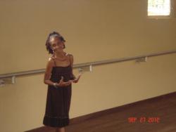 Dance Studio student