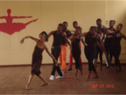 Dance Studio students