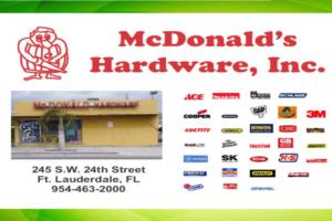 McDonald's Hardware, Inc.