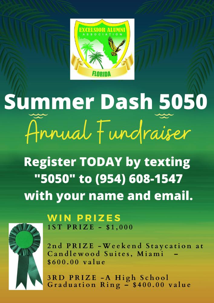 Summer Dash Flyer